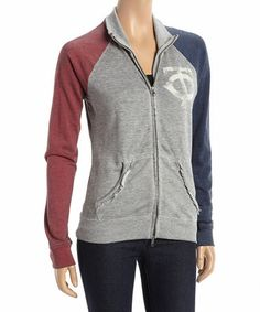 Minnesota Twins Velocity Fleece Jacket by Glll Sports #zulily #zulilyfinds