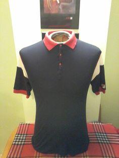 Vintage 1990's Fila 3 Button Unisex Tennis Shirt by VintageMixWest on Etsy