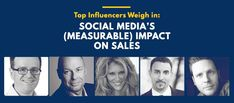 Top Influencers Weigh In: Social Media's (Measurable) Impact on Sales Social Media Marketing, Digital Marketing, Seo Company, Influencer Marketing, Quotations, Infographic, Interview, Channel, Ebooks