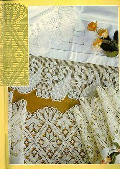 钩针编织----漂亮的花边