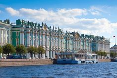 The Winter Palace, Saint Petersburg, Russia. Better known today as the Hermitage Museum. Amazing Buildings, Amazing Architecture, The Places Youll Go, Places To See, Peles Castle, Renaissance Architecture, Catherine The Great, Winter Palace, Hermitage Museum