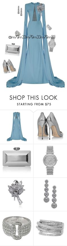 """Untitled #625"" by m79m33 ❤ liked on Polyvore featuring Alex Perry, Jimmy Choo, Judith Leiber, Michael Kors, Piaget and Sterling Forever"