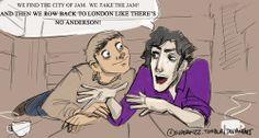 El Dorado/Sherlock - The Road to Sherlock by superfizz (Tumblr)