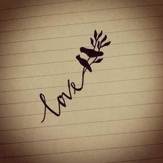 love bird tattoos by ei.che.31