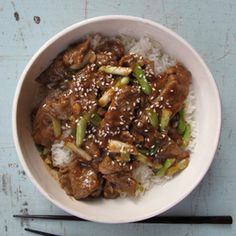 Mongolian Beef Asian Recipes - Asian Food Recipes - http://Delish.com