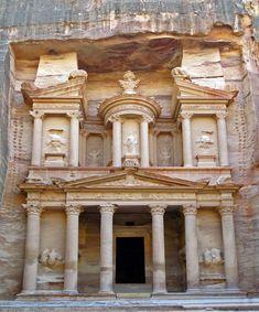 Al Khazneh - Petra, JO - c.0 - Ancient Greek.