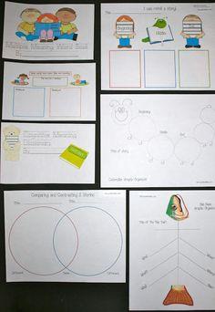 Classroom Freebies: General Graphic Organizers