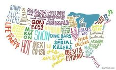 *United States Mapped Out LOL* ~For More Funny Pictures & Quotes, Please Follow Us!~ <3