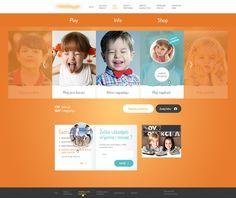 Web concept by Kreativa Studio