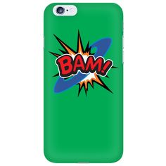 BAM! iPhone 6 cell phone case (Green)