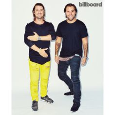"""""""One of our favorite shots from #Hot100Fest: @axwell ^ @ingrosso : @meredithjenks"""""""