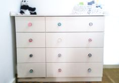 Dresser Drawer Knobs-owl