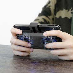 Baseus Multifunctional Radiator Cooling Plate Phone Holder With Dual Fans For Inch Smartphones - Black High Tech Gadgets, Phone Holder, Multifunctional, Smartphone, Rings For Men, Consumer Electronics, Fans, Plate, Jewelry