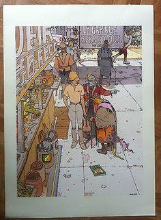 Les 10 meilleures images du tableau affiche moebius le for Garage le plus proche de chez moi