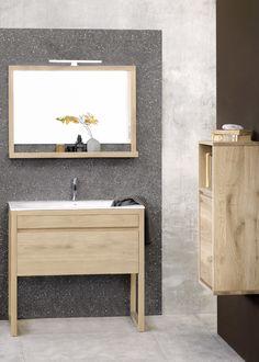 Ethnicraft Bathroom: the Cuadro line.