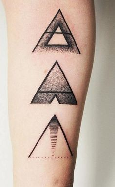 the shapes and gray shading