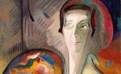 Alice Bailly, Self-Portrait, 1917