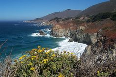 California Coastline North of Big Sur and South of Carmel by mwpjlp, via Flickr