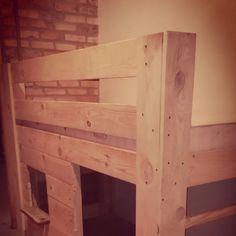 Nasz pierwszy mebel samodzielnie wykonany #diy #furniture #bed #for boy Diy Furniture, Wood, Crafts, Inspiration, Instagram, Biblical Inspiration, Manualidades, Woodwind Instrument, Timber Wood