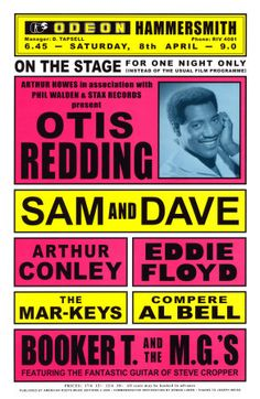 What a show! Otid Redding , Sam & Dave among others
