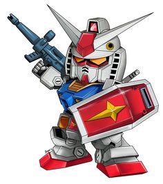 Super Deformed RX-78-2 Gundam