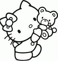 hello kitty ausmalbilder - ausmalbilder für kinder | ausmalbilder | hello kitty sachen