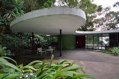 casa das canoas- near rio de janeiro, by oscar Niemeyer
