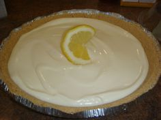 This is absolutely one of my favorite pies.  It is no-bake and super easy to make!  Perfect for a summer day.