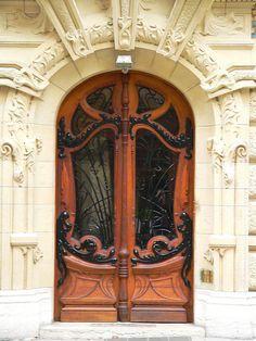 Door in Paris