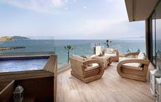 ALAS RESORT & SPA στο www.GamosPortal.gr #honeymoon #γαμήλιος προορισμός Resort Spa, Outdoor Furniture, Outdoor Decor, Sun Lounger, Gallery, Balcony, Home Decor, Chaise Longue, Decoration Home