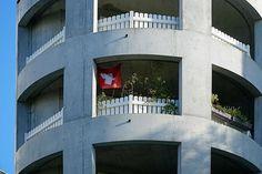ArcDog Images: Zellwegerpark Uster | Herzog & de Meuron. Image  ArcDog #arcdog #image #arcdogimages #architecture #photography #architect #building #space #architecturephotography #zellwegerpark #uster #herzogdemeuron #hdm #apartment #concrete #switzerland