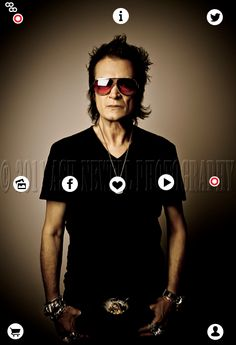 Explore this interactive image: Glenn Hughes ~ The Voice of Rock with @glenn_hughes