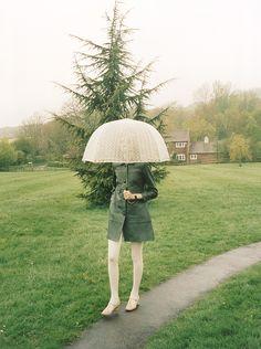 Photography by Venetia Scott.  Orla Kiely  Campaign shoot for AW 12