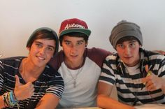 beau luke and jai brooks. Natalie was right they are kinda cute ^_^ and makayla can get out of here with this mess