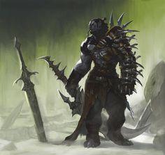 Orks der Kaltküste Fantasy Races, High Fantasy, Epic Characters, Fantasy Characters, Fantasy Weapons, Fantasy Rpg, Character Art, Character Design, Fantasy Monster