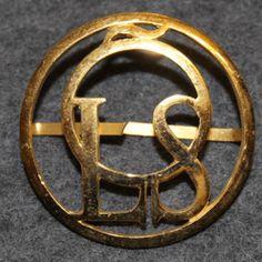 ÖLS Örebro Läns Slakteriföreningen, butchers union Uniform Insignia, Bracelets, Leather, Accessories, Jewelry, Jewlery, Jewerly, Schmuck, Jewels