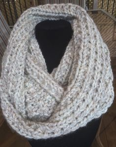 A personal favorite from my Etsy shop https://www.etsy.com/ca/listing/239661328/knit-scarf-scarf-infinity-scarfchunky