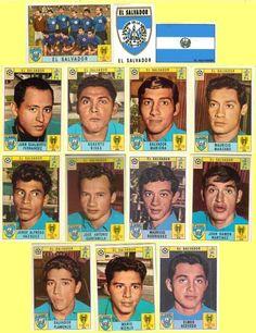 Panini stickers 1970 FIFA World Cup Mexico - El Salvador squad