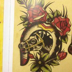 ... Horseshoe Tattoo Horse Horsehead Ankle Tattoo Horsehead Horseshoe