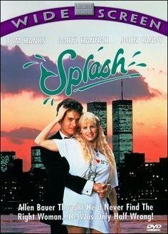 """""""Splash"""" With Tom Hanks & Daryl Hannah Film Movie, See Movie, Movie List, 1984 Movie, Comedy Movies, 90s Movies, Great Movies, Tom Hanks Filme, Daryl Hannah"""