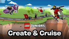 LEGO® Juniors Creëer en vertrek - Apps - LEGO.com