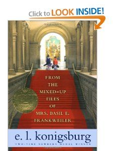 I read this book a long time ago.  From the Mixed-up Files of Mrs. Basil E. Frankweiler: E.L. Konigsburg