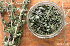 Kitchen How To: Dried Oregano | Oysters & Pearls