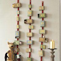 Un calendrier de l'avent en boîtes d'allumettes - Marie Claire Idées