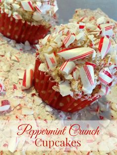 Outnumbered 3 to 1: Peppermint Crunch Cupcakes