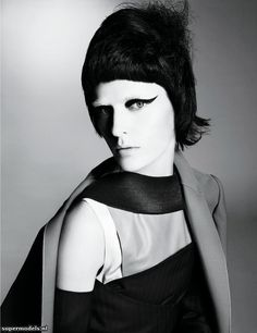 Stella Tennant in 'Starchitecture' - Photographed by Steven Meisel (W March 2013)    Complete shoot after the click...