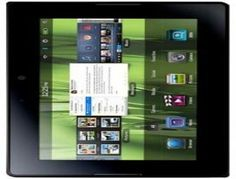 Blackberry Playbook 32 GB has a brilliant 7.0 inch TFT capacitive touchscreen with resolution of 600 x 1024 pixels and 16M colors combination.  The Blackberry Playbook 32 GB has a 5 MP camera with resolution of 2592x1944 pixels having features autofocus, and also a secondry 3 MP, 1080p@30fps.