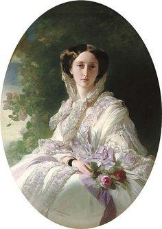 Olga Grand Duchess of Russia 1856, by Winterhalter