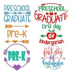 {Daily FREE Cut File) Preschool Graduate SVG Cuttable Designs -- Available for FREE today only, Aug 16