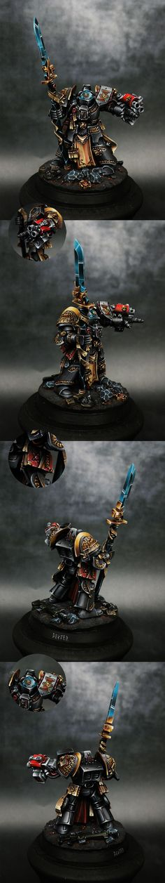 40k - Grey Knights Brother Captain by dexterzg